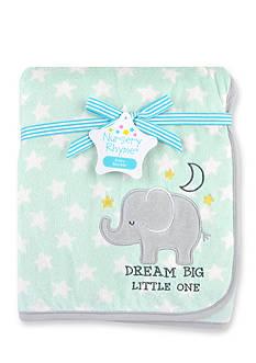 Nursery Rhyme Elephant Plush Blanket