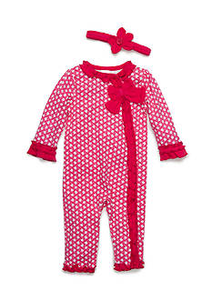 Nursery Rhyme Dot Coverall Infant/Baby Girls