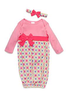 Nursery Rhyme Gown and Headband Set