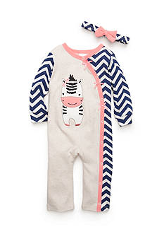 Nursery Rhyme Coveralls with Headband