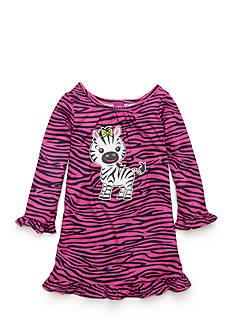 J. Khaki Zebra Night Gown Toddler Girls