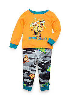 J. Khaki Graphic Outdoor Explorer Pajama Set Toddler Boys