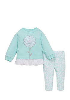 best beginnings by Little Me Flower Tunic and Legging Set