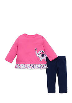best beginnings by Little Me Elephant Tunic and Legging Set