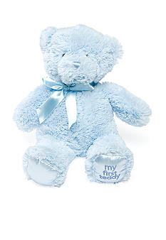 Gund Newborn Boy My First Teddy