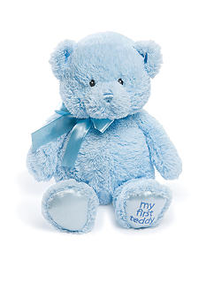 Gund My First Teddy - Blue