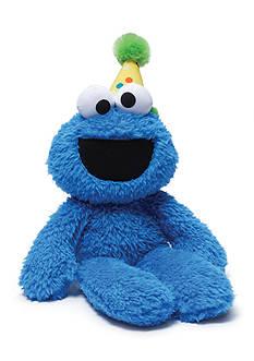 Gund Plush Birthday Cookie Monster Take Along Buddy