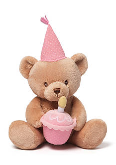 Gund Happy Birthday Talking Plush Bear