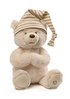 Gund Animated Goodnight Prayer Bear