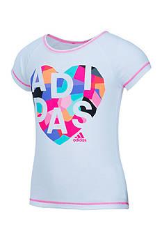 adidas Drop Tail Raglan Tee Toddler Girls