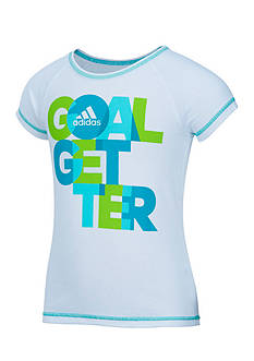 adidas Drop Tail Raglan Tee Toddler Girls