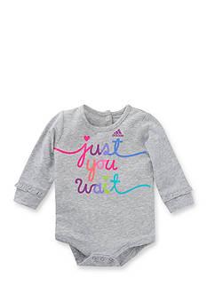 Adidas Just You Wait Bodyshirt Baby Girls