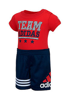 adidas 2-Piece 'Team Adidas' Bodyshirt and Short Set