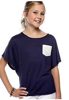 Jessica Simpson Dolman Bow Back Top Toddler Girls