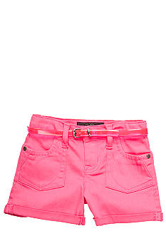 Jessica Simpson Belted Super Star Shorts Toddler Girls