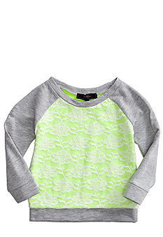 Jessica Simpson Tissue Fleece Sweatshirt Toddler Girls