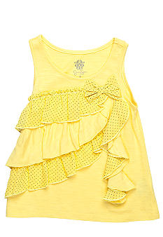 Jessica Simpson Milo Ruffle Top Toddler Girls