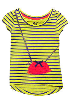 Jessica Simpson Flutter Purse Tee Toddler Girls