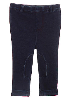 Hartstrings Faux Denim Stretch Knit Pant