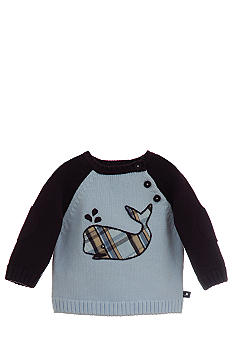 Kitestrings Stripe Whale Romper