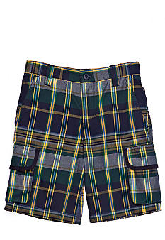 Kitestrings Plaid Short Toddler Boys
