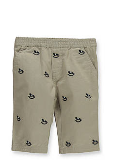 Kitestrings® Rocking Horse Embroidered Cotton Twill Pants