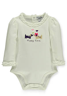 Hartstrings Puppy Love Long Sleeve Bodysuit