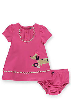 Hartstrings Puppy Love Cotton Dress and Panty Set