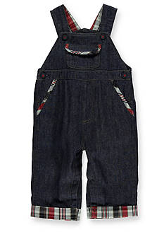 Kitestrings® Denim Woven Overalls