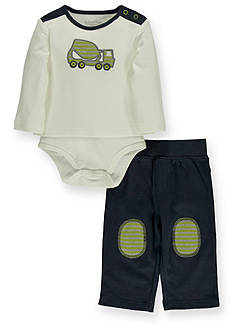Kitestrings® Truck Knit Bodysuit and Pants Set