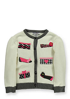 Hartstrings Embroidered Cardigan Sweater