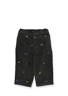 Kitestrings® Whale Pattern Corduroy Pants