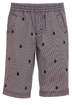 Kitestrings Stripe Embroidered Sailboat Pant