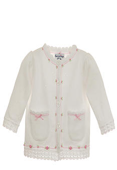 Hartstrings Flower Embroidery Cardigan Sweater