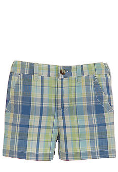 Kitestrings Plaid Woven Short