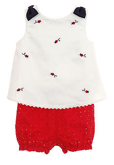 Hartstrings Lady Bug Bloomer Set