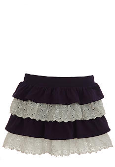 Hartstrings Tiered Eyelet Skort Toddler Girls