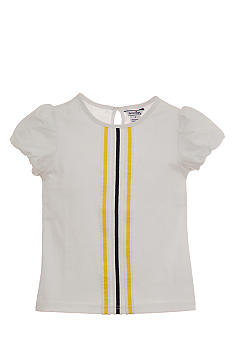 Hartstrings Ribbon Trim Tee Toddler Girls