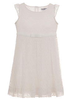 Hartstrings Lace Dress Toddler Girls