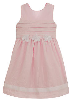 Hartstrings Seersucker Dress Toddler Girls