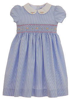Hartstrings Smock Dress Toddler Girls