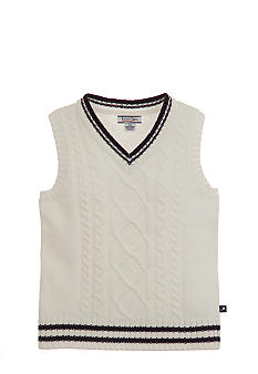 Kitestrings Cable Sweater Vest Toddler Boys