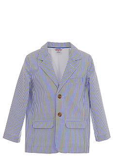 Kitestrings Seersucker Blazer Toddler Boys