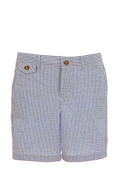Kitestrings Seersucker Flat Front Short Toddler Boys