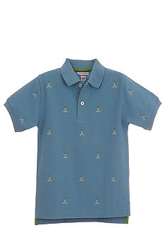 Kitestrings Golf Motif Polo Shirt Toddler Boys