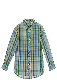 Kitestrings Plaid Woven Shirt Toddler Boys