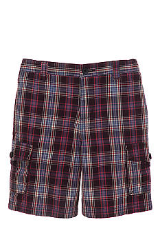 Kitestrings Plaid Shorts Toddler Boys