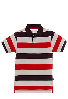Kitestrings Striped Polo Toddler Boys