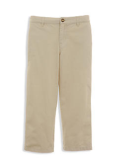 Kitestrings Stone Flat Front Twill Pant Toddler Boys