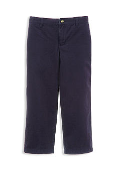 Kitestrings Air Navy Flat-Front Twill Pant Toddler Boys